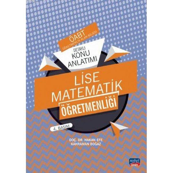 2020 ÖABT Lise Matematik Öğretmenliği Detaylı Konu Anlatımı Nobel Yayınları