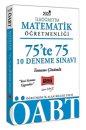 2020 ÖABT İlköğretim Matematik Öğretmenliği 75'te 75 Tamamı Çözümlü 10 Deneme Sınavı Yargı Yayınları