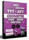 2022 TYT - AYT Geometri Video Ders Defteri Benim Hocam Yayınları