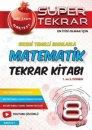 8. Sınıf LGS Matematik Süper Tekrar Kitabı Nartest Yayınları