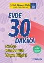 1. Sınıf Evde 30 Dakika Öğrenci Kitabı Tudem Yayınları