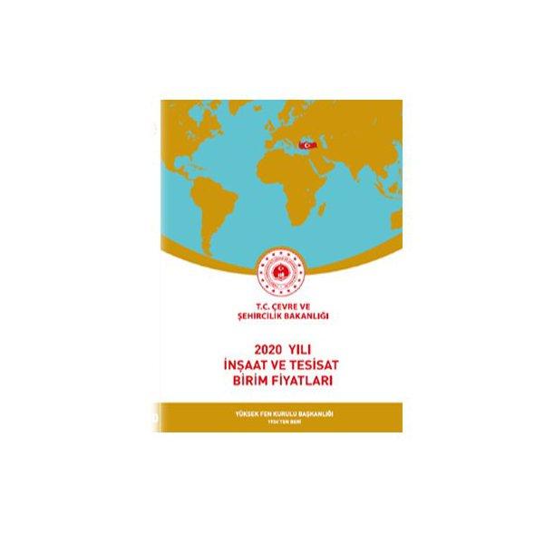 2020 Yılı İnşaat ve Tesisat Birim Fiyatları Çevre ve Şehircilik Bakanlığı