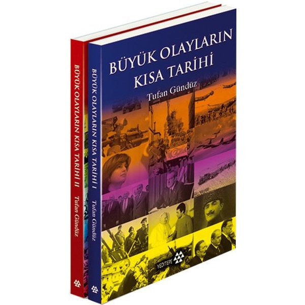 Büyük Olayların Kısa Tarihi-2 Kitap Takım Tufan Gündüz Yeditepe Yayınları