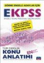 EKPSS Görme Engelliler İçin Konu Anlatımı Nobel Sınav Yayınları