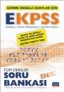 EKPSS Görme Engelliler İçin Tüm Dersler Soru Bankası Nobel Sınav Yayınları