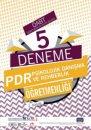2020 ÖABT PDR Psikolojik Danışma ve Rehberlik Öğretmenliği 5 Deneme Nobel Sınav Yayınları