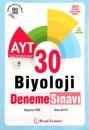 AYT Biyoloji 30 Deneme Video Çözümlü Palme Yayınları