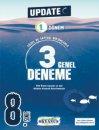 Okyanus Yayınları 8. Sınıf LGS Update 1. Dönem 3 Genel Deneme