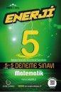 5. Sınıf Matematik Enerji 5+5 Deneme Palme Yayınları