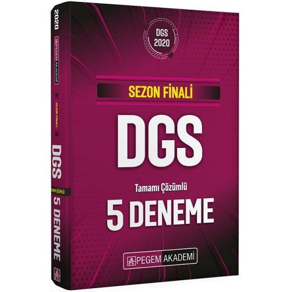 2020 DGS Sezon Finali 5 Deneme Çözümlü Pegem Akademi Yayınları