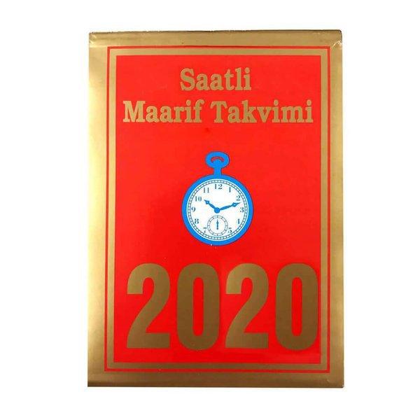 Saatli Maarif 2020 Takvimi Büyük