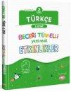2. Sınıf Türkçe Beceri Temelli Yeni Nesil Etkinlikler 2. Kitap Kral Kızı Yayınları