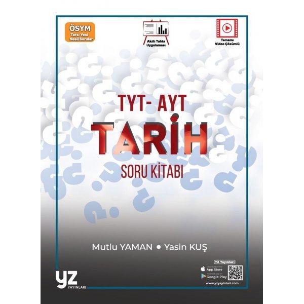 Tyt Ayt Tarih Soru Kitabı Video Çözümlü Yz Yayınları