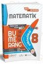 Günay Yayınları 8.Sınıf LGS Matematik Bumerang Serisi Akıllı Defter Kitap