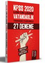 Benim Hocam 2021 KPSS Lise Ön Lisans Vatandaşlık Tamamı Çözümlü 27 Deneme