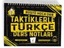 Pelikan Yayınları Tüm Sınavlar için Türkçe Rüştü Hocadan Taktiklerle Ders Notları