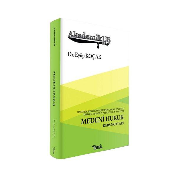 AkademikUS Medeni Hukuk Ders Notları Temsil Kitap Yayınları 2020