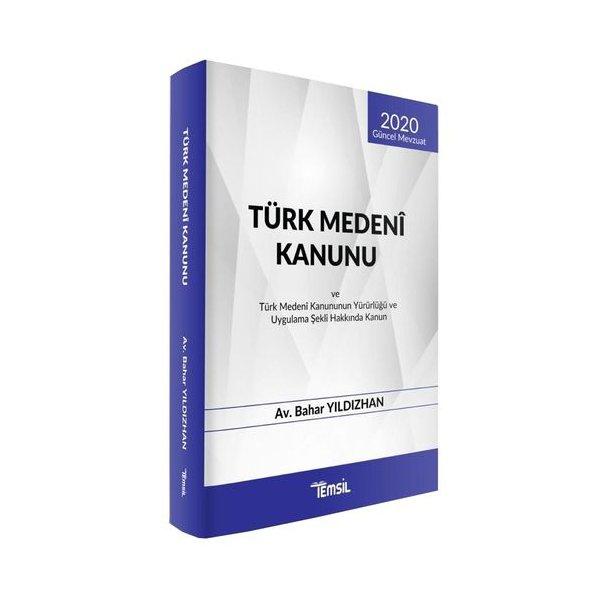 Türk Medeni Kanunu Temsil Kitap Kanun Metinleri 2020