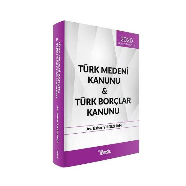 Türk Medeni Kanunu - Türk Borçlar Kanunu Temsil Kitap Kanun Metinleri 2020