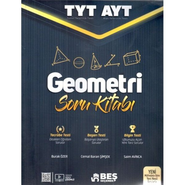 Tyt Ayt Geometri Soru Kitabı Beş Seçenek Yayınları