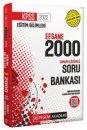 Pegem 2022 KPSS Eğitim Bilimleri EFSANE 2000 Çözümlü Soru Bankası Pegem Akademi Yayınları