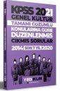 2021 KPSS Genel Kültür Konularına Göre Tamamı Çözümlü Çıkmış Sorular Yediiklim Yayınları
