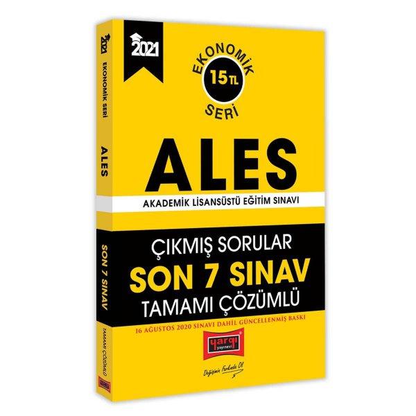 2021 ALES Son 7 Sınav Tamamı Çözümlü Çıkmış Sorular Ekonomik Seri Yargı Yayınları