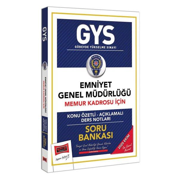 GYS Emniyet Genel Müdürlüğü Memur Kadrosu İçin Konu Özetli Soru Bankası Yargı Yayınları