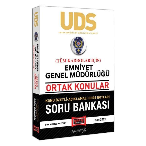 UDS Emniyet Genel Müdürlüğü Ortak Konular Tüm Kadrolar İçin Konu Özetli Soru Bankası Yargı Yayınları