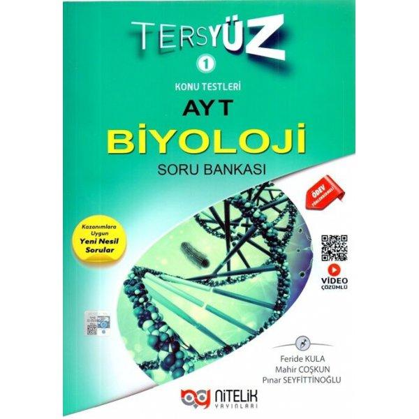 Ayt Biyoloji Tersyüz Soru Kitabı Video Çözümlü Nitelik Yayınları