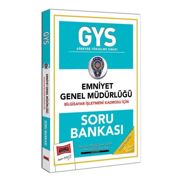 GYS Emniyet Genel Müdürlüğü Bilgisayar İşletmeni Kadrosu İçin Soru Bankası Yargı Yayınları