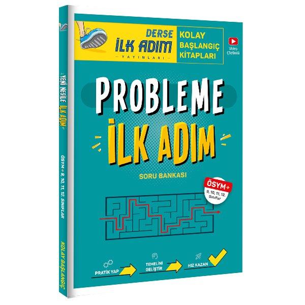 Probleme İlk Adım 9-10-11 ve 12. Sınıflar İçin Problem Kitabı İlk Adım Tonguç Yayınları
