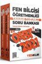 Yediiklim Yayınları 2021 ÖABT Fen Bilgisi Öğretmenliği Tamamı Çözümlü Soru Bankası 2 Cilt