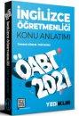 2021 ÖABT İngilizce Öğretmenliği Konu Anlatımı Yediiklim Yayınları