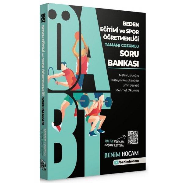 2021 ÖABT Beden Eğitimi ve Spor Öğretmenliği Soru Bankası Benim Hocam Yayınları