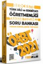 2021 ÖABT Türk Dili ve Edebiyatı Öğretmenliği Hücreleme Yöntemine Göre Berceste Soru Bankası Yediiklim Yayınları
