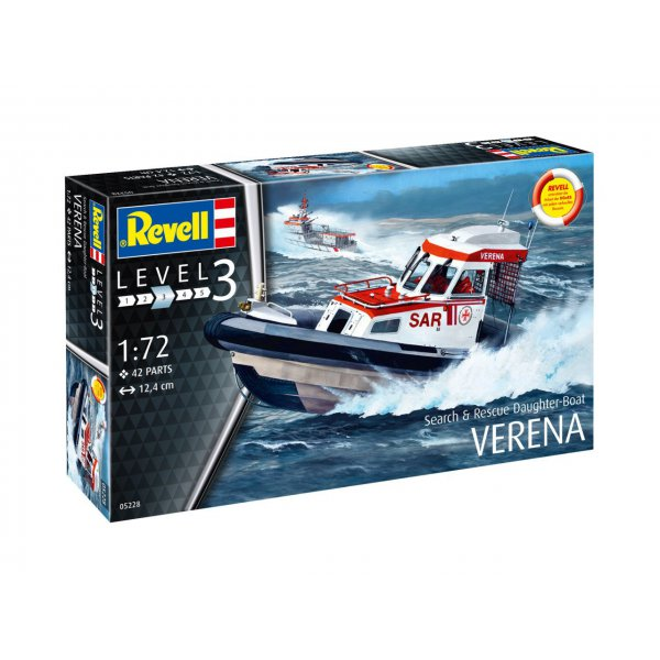 Revell Rescue Boat DGzRS VERENA