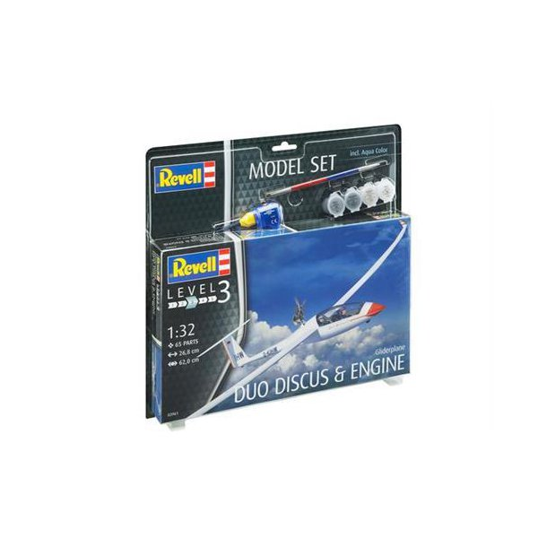 Revell M. Set Gliderplane Duo Discus