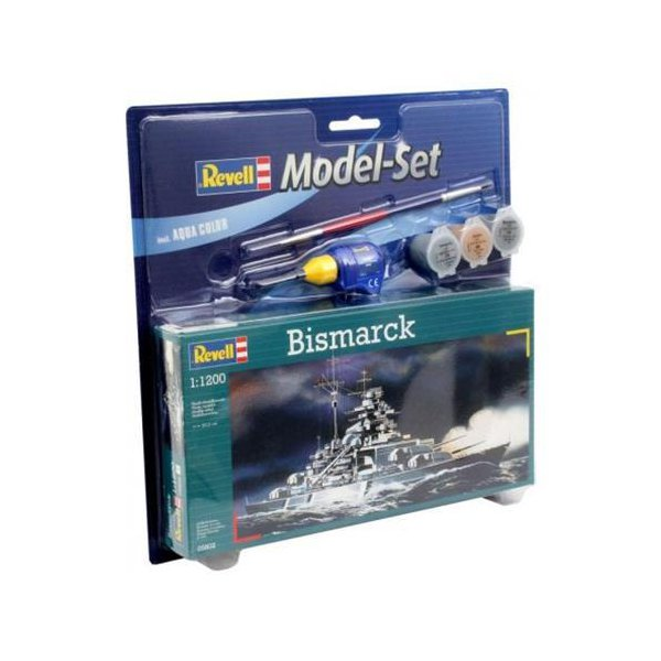 Revell M.Set Bismarck