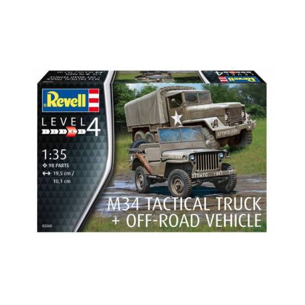 Revell M34 Tactical Truck
