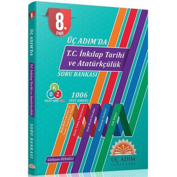 Üç Adım Yayınları 8. Sınıf T.C. İnkılap Tarihi ve Atatürkçülük Üç Adımda Soru Bankası