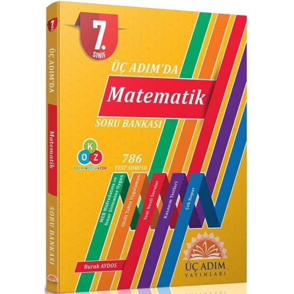 Üç Adım Yayınları 7. Sınıf Matematik Üç Adımda Soru Bankası