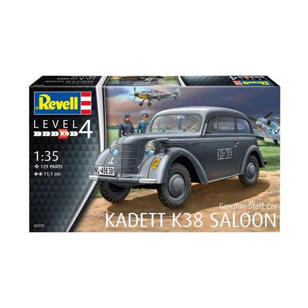 Revell 'German Staff Car ''Kadett K38 Saloon''