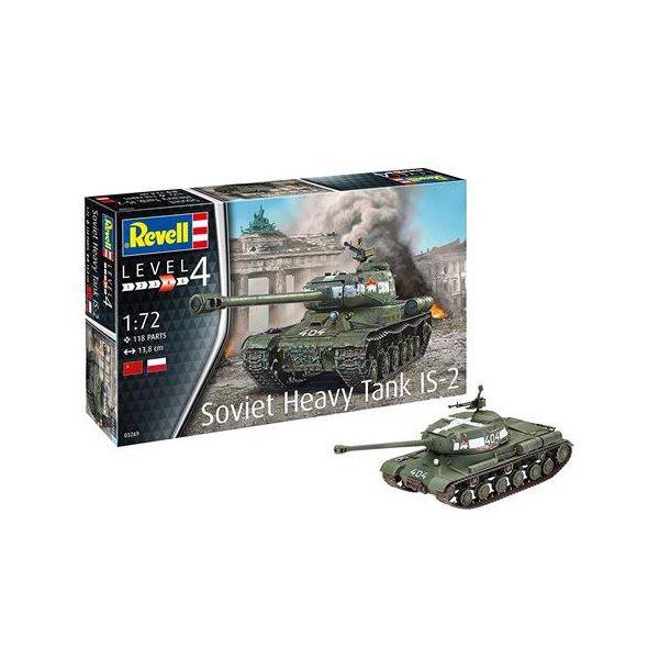 Revell Soviet Heavy Tank IS2