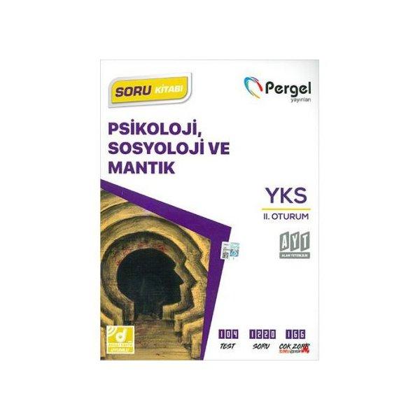 AYT Psikoloji, Sosyoloji ve Mantık Soru Kitabı Pergel Yayınları