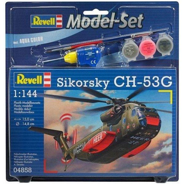 Revell M. Set CH-53G H. Trans Heli.