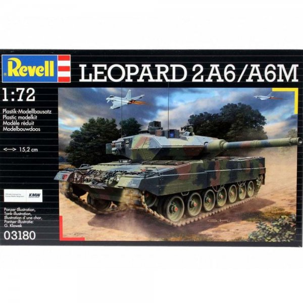 Revell Leopard 2 A6M
