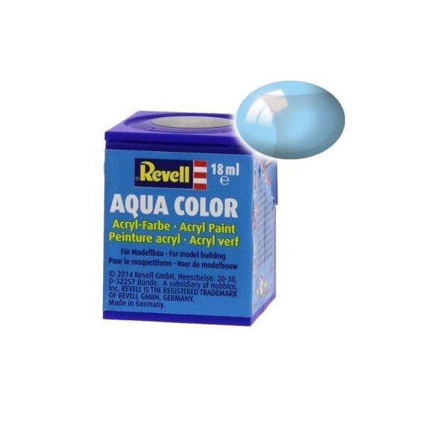 Revell 752 - Aqua Color Blue - Clear Boya - 18 ml