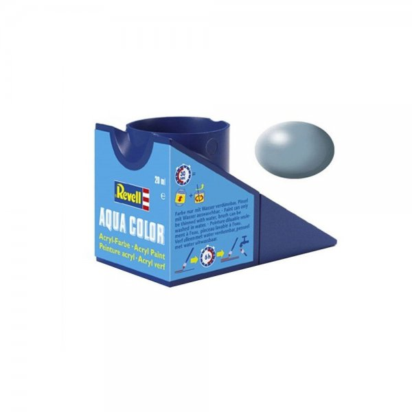 Revell 374 - Aqua Color Grey Silk Boya - 18 ml