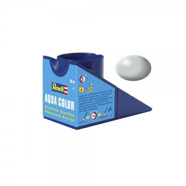 Revell 371 - Aqua Color Light Grey - Silk Boya - 18 ml